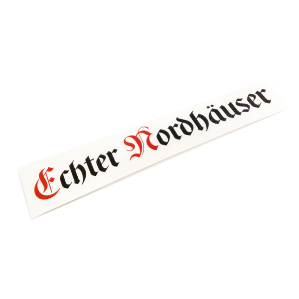 "Autoaufkleber ""Echter Nordhäuser"""