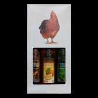 Geschenkkarton mit 3 x 0,1 l Flaschen