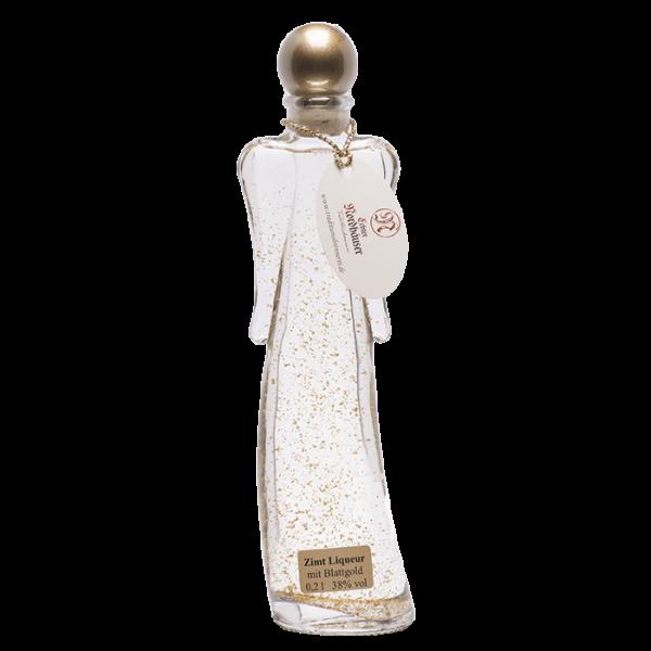 Geschenkflasche Engel mit Zimt-Liqueur